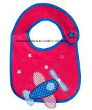 Soem-Erzeugnis Customzied netter Auslegung-Applique gestickter Baumwollfördernder kundenspezifischer Baby-Schellfisch
