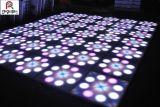 Newest 60*60cm fleur effet voyant de contrôle DMX plancher de danse de mariage