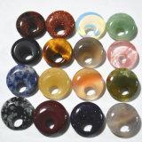 최신 판매 분류된 자연적인 돌 둥근 카보숑 컷 돌 구슬
