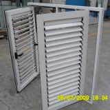 Qualitäts-weißes Farben-Puder-überzogenes Aluminiumprofil-Flügelfenster-Fenster u. Flügelfenster-Blendenverschluß K03014