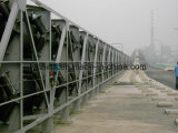 Hochleistungsüberlandröhrenbandförderer/Rohr-Bandförderer-System