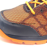 Zapatos de seguridad con estilo superiores de Kpu con la punta de acero