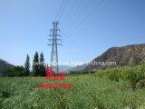 Spannkraft-Übertragungs-Stahl-Aufsatz des Kreisläuf-110kv drei obenliegender