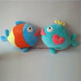 아이 사랑스러운 심혼을%s 가진 선물에 의하여 채워지는 견면 벨벳 장난감 물고기