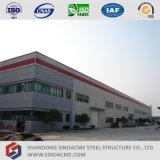 Полуфабрикат мастерская стальной структуры с офисным зданием