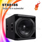 "Stx818s single 18"" el sistema de sonido Pro Audio Subwoofer"