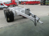 販売の高い半Quanlityのセメントおよび鋼鉄キャリアの平床式トレーラーのトレーラー