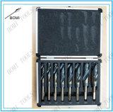 8PC HSS Cobalt Silver & Deming Brocas Conjunto