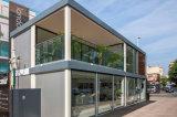 Construcción de viviendas ligera modular de la estructura de acero del bajo costo
