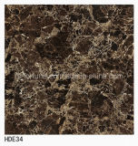 De bruine Kleur Verglaasde Tegels van de Vloer van het Porselein