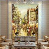 Het Schilderen van de fabriek de Directe In het groot Olieverfschilderijen van het Canvas van de Kunst van de Straat van Parijs van de Impressionist