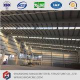 Sinoacme construções prefabricadas da estrutura metálica do prédio de escritórios com Galpão de oficina