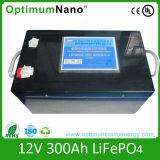 батареи 12V 100ah иона LiFePO4 лития 12V с BMS