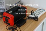 73000mAh Sistema de generador solar Solución de energía solar con Ce / FCC / RoHS