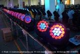 lumière mobile d'étape de la tête DEL de zoom de 19PCS 15W