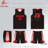 Baloncesto libre modificado para requisitos particulares Company Jersey del diseño de Healong