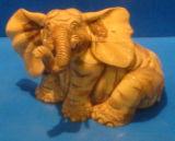 Woodcarving Buddha