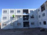 Chambre de conteneur de paquet plat pour la construction vivante provisoire