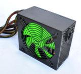 230W 12cm 녹색 팬 검정 PC 전력 공급은 입력/출력으로 주문을 받아서 만든다