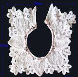Paño de algodón cuello redondo Lace (M1230)