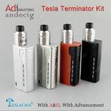 Terminale elettronico 90W di Tesla dei nuovi prodotti di Tesla della sigaretta in azione