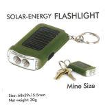 2 LED de luz Chaveiro Solar
