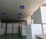 Alto strato lucido della gomma piuma del PVC di bianco per gli armadi da cucina