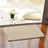 Современный дизайн с правой Tufted хлопка Chenille Chenille коврик коврик для ванной