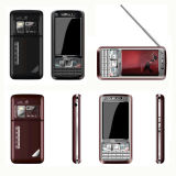 Analoge TV Dual SIM Card Standby mobiele telefoon (C1000)