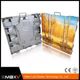 1/8의 검사 옥외 P5 640*640mm 임대료 알루미늄 Die-Casting 발광 다이오드 표시 스크린