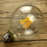 Lampadina della lampadina 4W 6W 8W E27 G80 LED del filamento