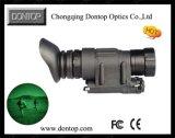 Dispositif de chasse numérique de vision nocturne avec support de casque (ND123A)