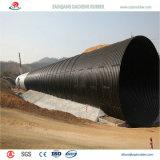 Tubo de acero corrugado Zinc-Plate con alta calidad para Francia