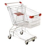 Chariot asiatique de chariot à achats de supermarché de modèle (HY-180A)