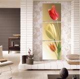 Обрамленные тюльпаны дома искусствоа стены изображения печати искусствоа декоративные крася перевозку груза Mc-188 искусствоа холстины части 3 свободно