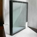 Vidro de janela temperado com isolamento matizado