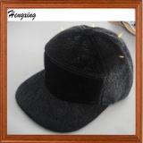 Schwarzes Panel-warmer Hut der Form-5
