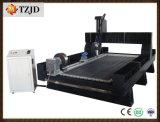 4 rebajadora CNC de ejes CNC Máquina de grabado de cilindros de piedra