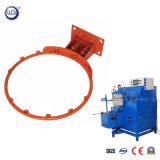 Círculo hidráulico automático del anillo del metal que hace y soldadora