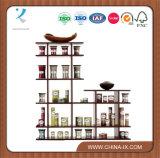 Estante de exhibición de madera de 2 niveles para el hogar o los minoristas