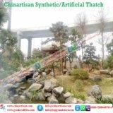 Естественный смотря Thatch листьев ладони Thatch пожаробезопасного водоустойчивого синтетического Thatch искусственний в Мальдивах Бали Африке Palapa
