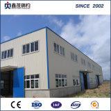 La estructura de acero de la construcción de casas modulares de almacén de acero