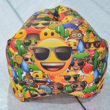 アマゾン、明白なAlibaba空気寝袋のバナナのLazybagの正方形のヘッド膨脹可能なソファーの熱い販売