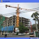 4ton 50m Jib Qtz5008 Self-service Erecting Tower Cranium for Building