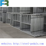 Échafaudage galvanisé de l'IMMERSION Q235 chaude pour la construction