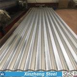 Galvanisiertes Metalldach bedeckt das gewölbte Dach-Bedecken