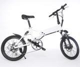 [20ينش] يطوي درّاجة كهربائيّة مع محرّك كثّ مكشوف