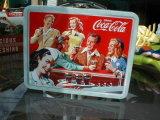 印刷の習慣のアートワークが付いている卸し売りハンドルの昼食の錫ボックス
