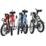 Новый электрический велосипед складные велосипеды с тремя цветами