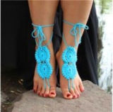 Häkelarbeit-barfüßigsandelholz-Hochzeits-Geschenk-Yoga-Socken